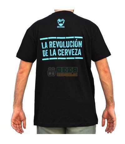 Camiseta BrewDog Punk IPA Negra