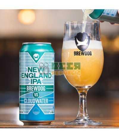 BrewDog vs Cloudwater New England IPA Lata 44cl