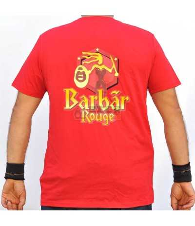 Camiseta Barbar Rouge Roja